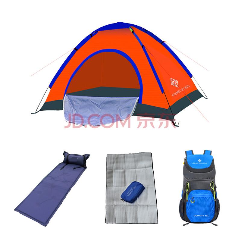 侧面帐篷矢量图