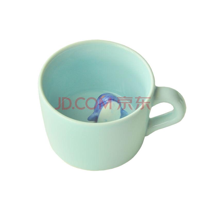 立体萌物咖啡杯动物陶瓷杯可爱马克杯水杯情侣杯子创意 包邮 恋之风景