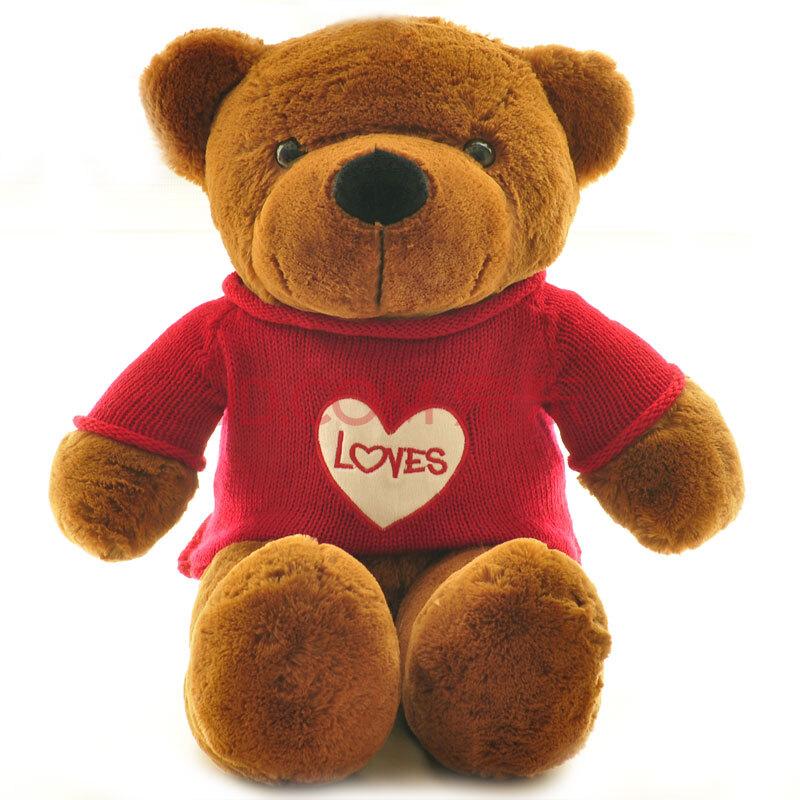 生日熊泰迪熊熊猫毛绒玩具布娃娃可爱超大号大熊公仔情人节娃娃礼物偶季毛衣官网图片
