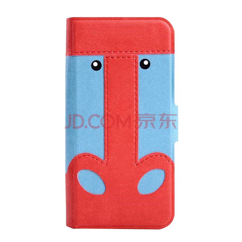 可爱卡叮奇动物手机皮套 卡通翻盖支架保护壳 苹果iphone4/4s 图案9