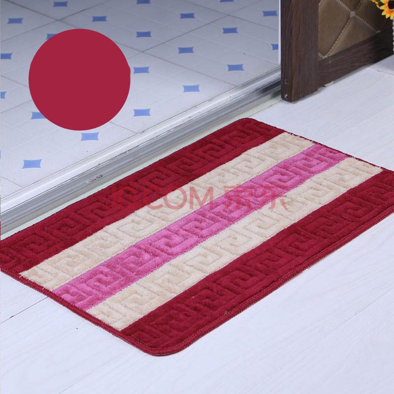 安俊门垫脚垫 卧室床边客厅房间榻榻米地毯垫子加厚田园进门 方块地垫