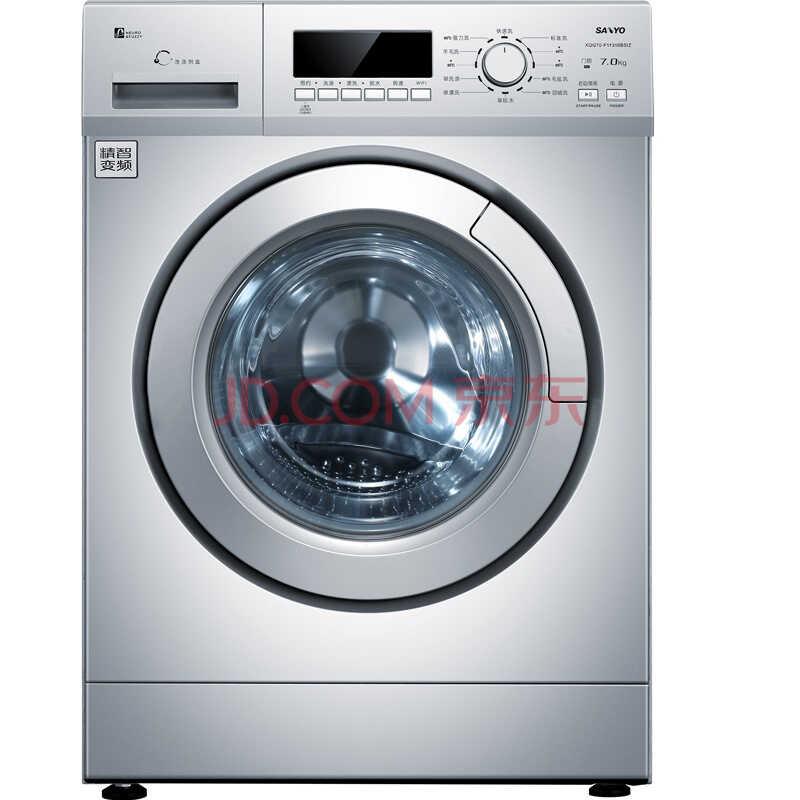 三洋(SANYO)XQG70-F11310BSIZ 7公斤WiFi变频滚筒洗衣机 京东微联智能APP控制)