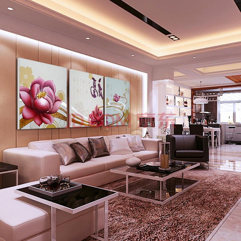 3d画现代简约立体浮雕装饰画壁画欧式客厅卧室床头挂画拼套手工立体