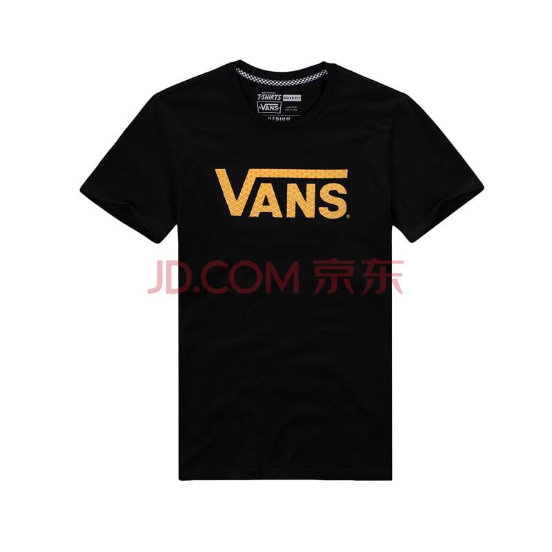 �y�ynl�c_vans/范斯秋季黑色男款短袖t恤|vn-0ynlblk/vn-0ynleee 黑色vn-0ynl