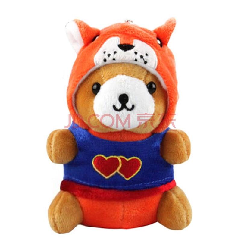 十二生肖小熊毛绒玩具
