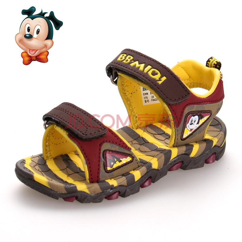 2014夏季儿童凉鞋男童沙滩凉鞋防滑轻