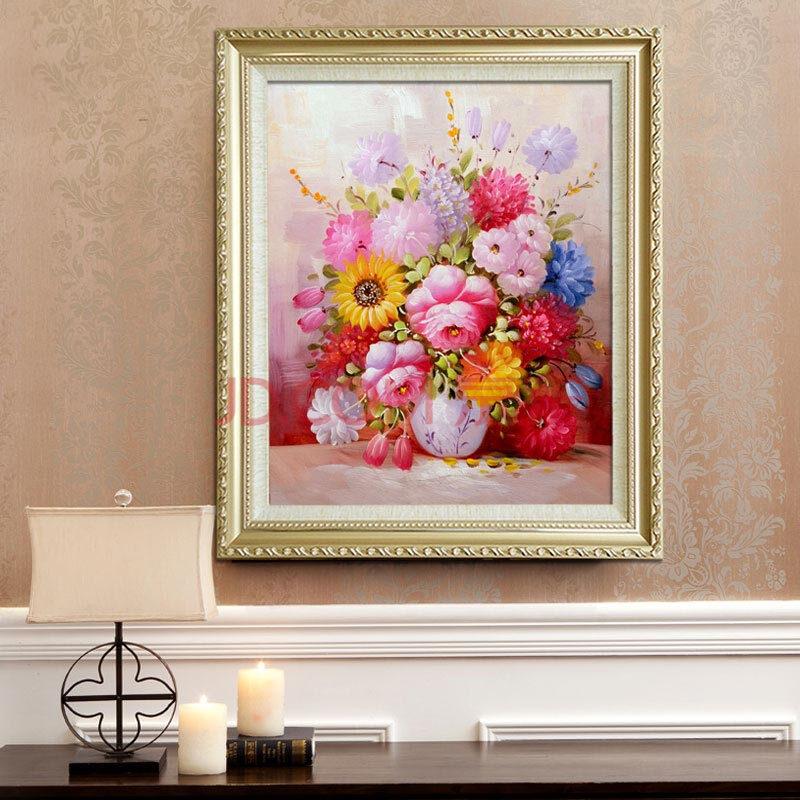 客厅欧式手绘油画装饰画餐厅玄关壁画挂画墙画