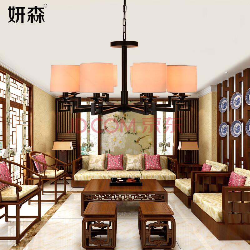 客厅吊灯中式卧室