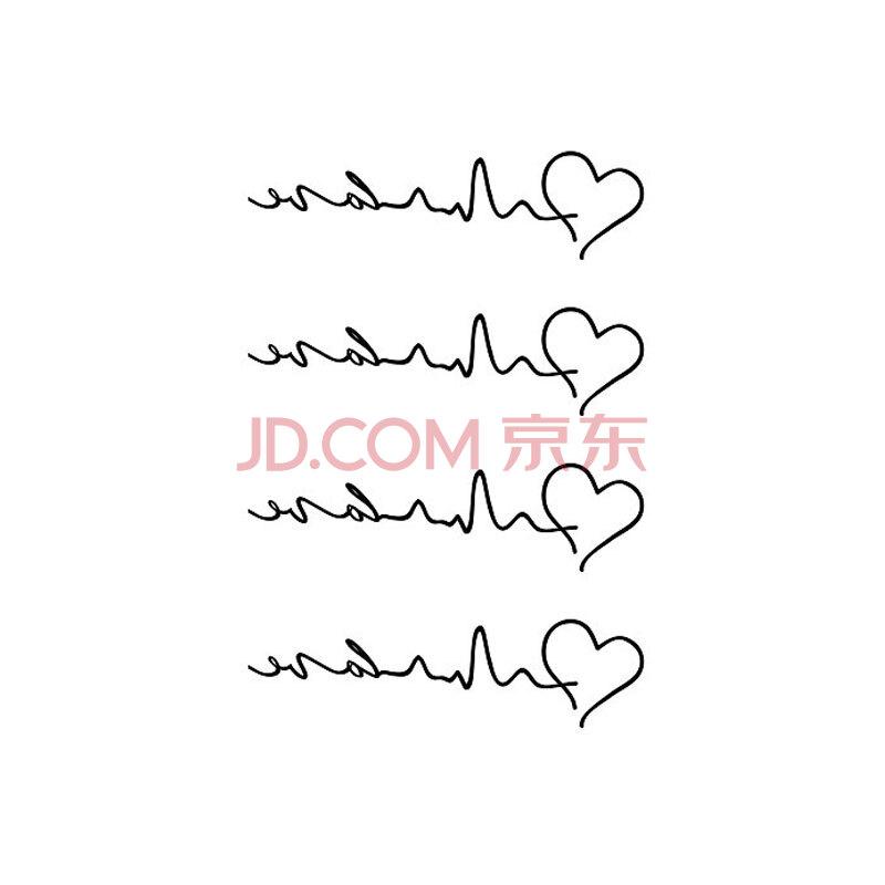 防水纹身贴(3免1/5免2)男女英文字母个性刺青纹身