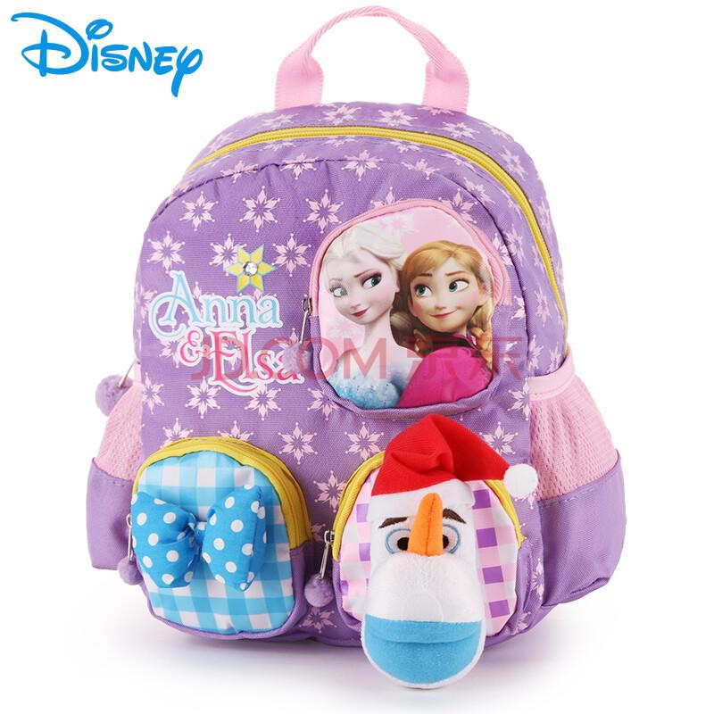 迪士尼幼儿园书包 冰雪奇缘卡通可爱小包宝宝中大班书包儿童双肩包 小