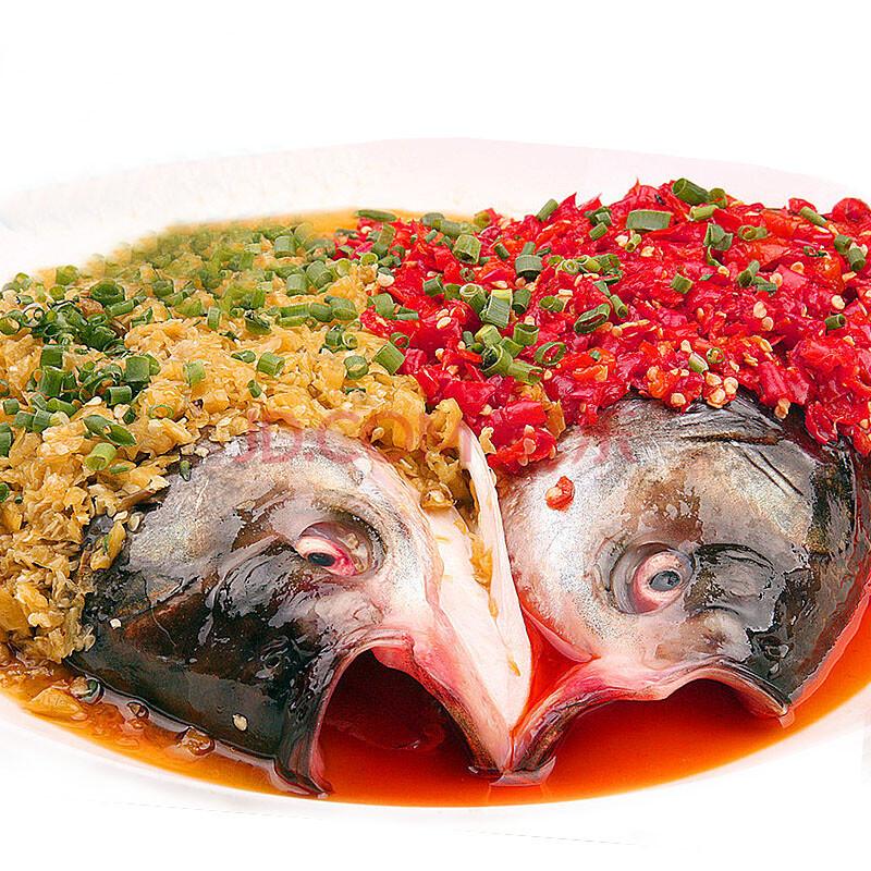 千岛湖 3斤新鲜速冻有机鱼头 纯天然野生 7年生长