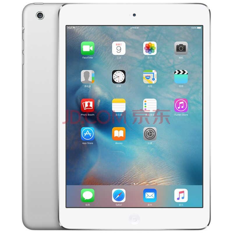 Apple iPad mini 2 7.9英寸平板电脑 银色(16G WLAN版/A7芯片/Retina显示屏 ME279CH/A)