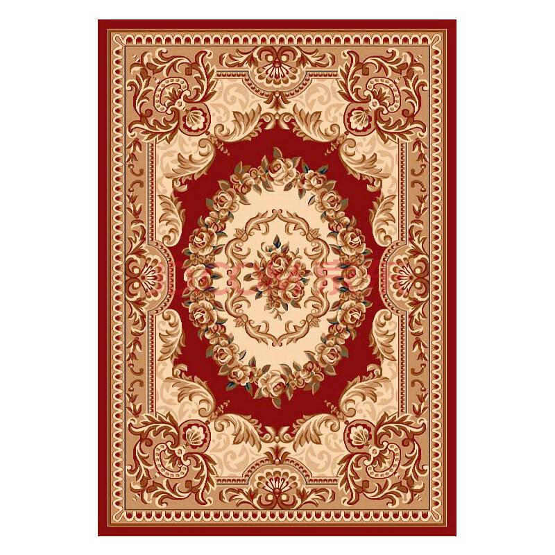 欧式客厅茶几地毯卧室床边地垫现代简约手工雕花图案
