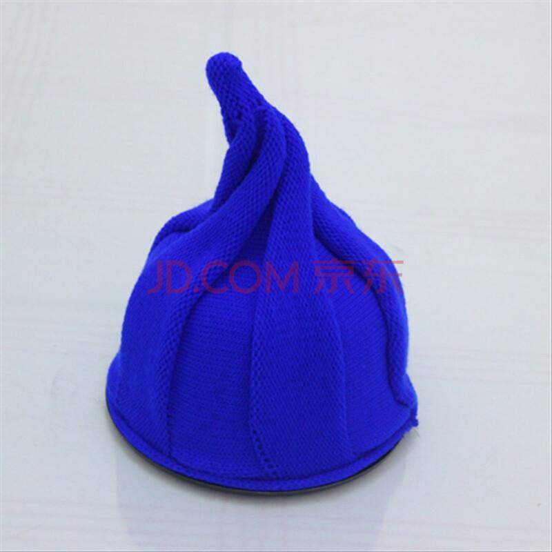 冬天帽子女韩版潮可爱尖顶针织毛线帽儿童尖尖帽男帽