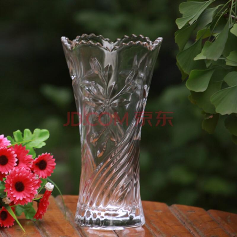 玻璃花瓶 欧式水晶花瓶摆件