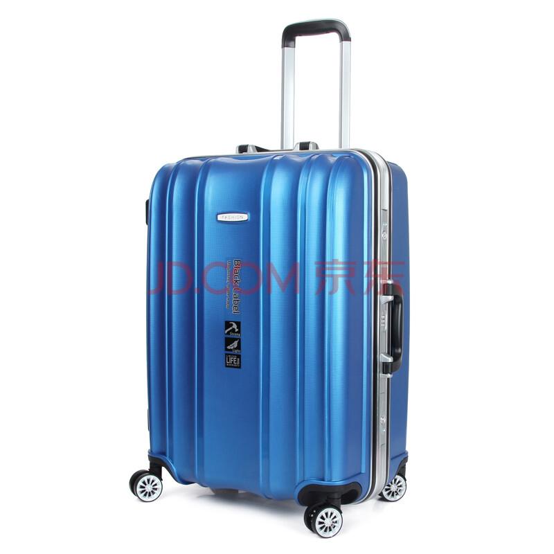 新款拉杆箱旅行箱行李箱男女大小pc铝框飞机轮tsa密码