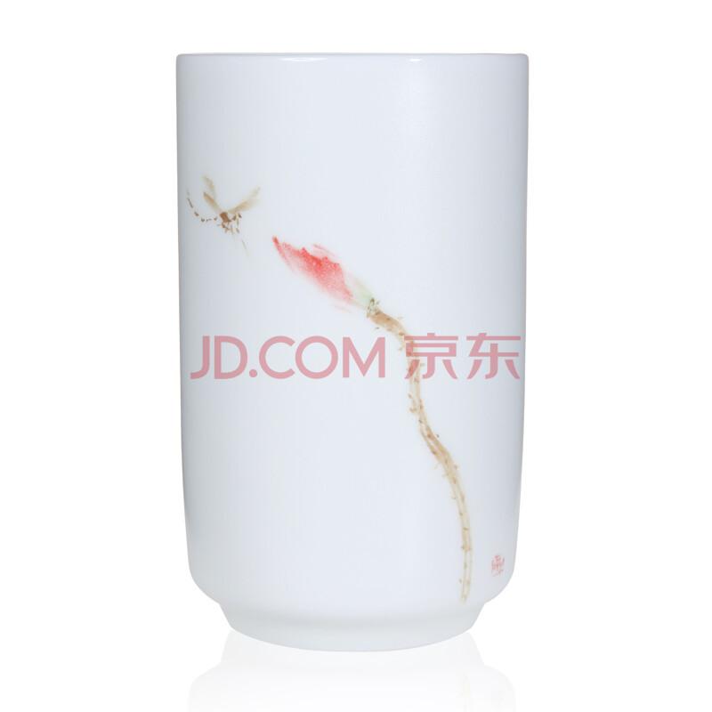 手绘盛装萌鹿水杯茶杯