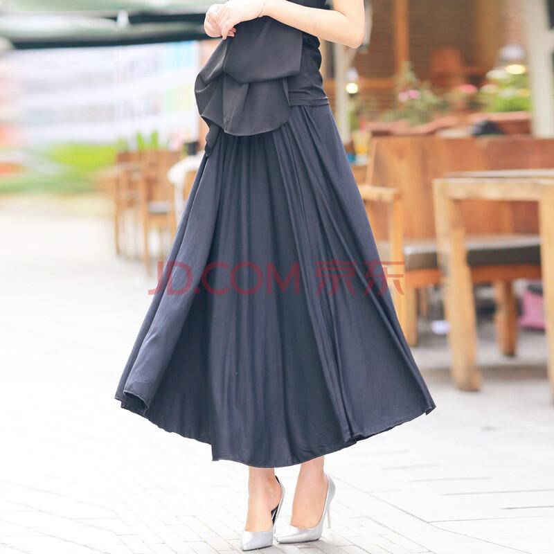 衣木堂 2014夏装新款波西米亚半身裙 夏季女装长裙子