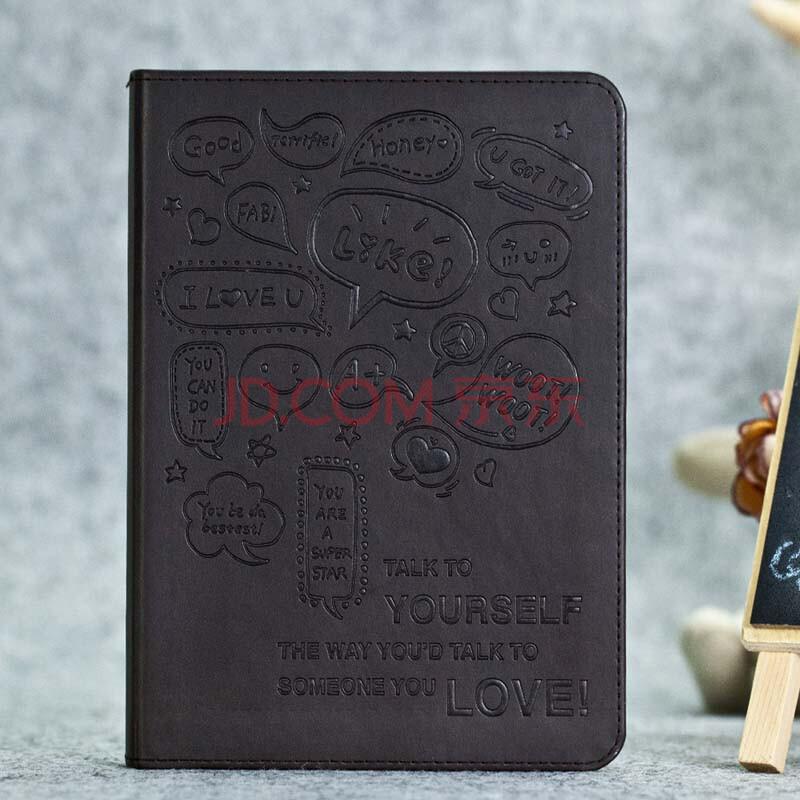 手绘励志变色pu皮精装日记本记事本