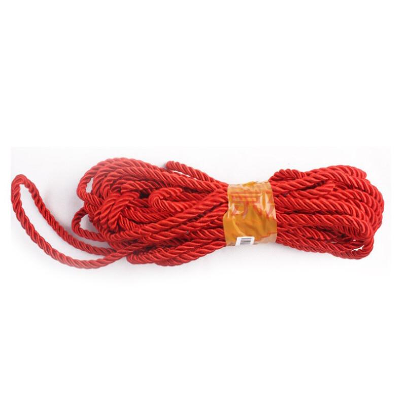 束缚绳捆绑绳子红色 情趣玩具 红色款 另类玩具 红色