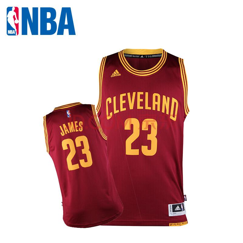 nba 阿迪达斯 骑士 詹姆斯 篮球服 swingman球衣 ads1016a 图片色 s