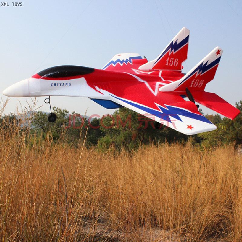 遥控滑翔机固定翼战斗机su-27