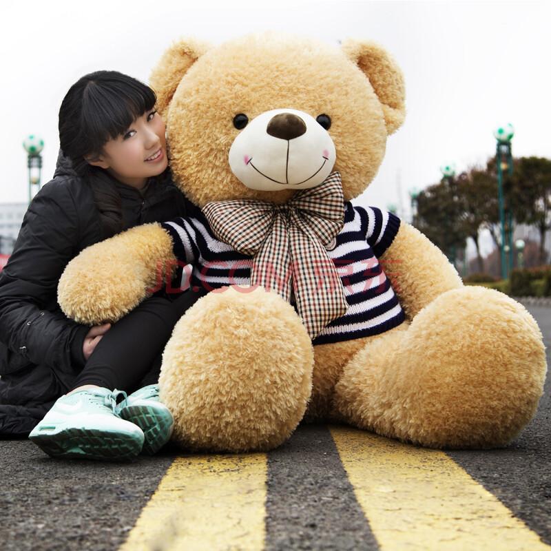 咚咚虎 毛绒玩具大狗熊 泰迪熊 1.