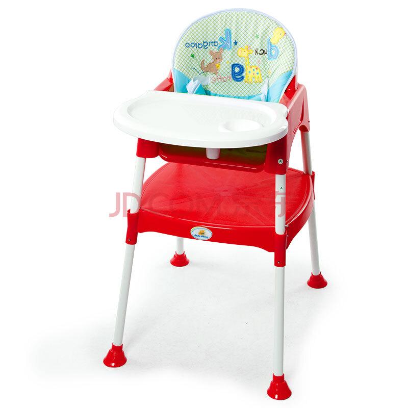 冬夏两用儿童餐椅可调高低拆卸宝宝餐椅组合式婴儿餐桌椅 西瓜红图片