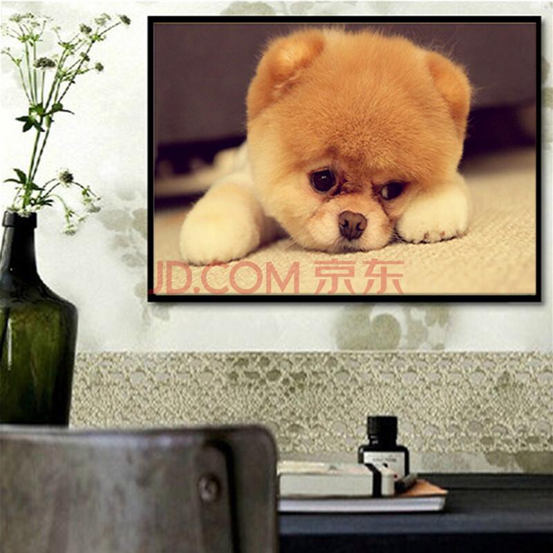 满钻魔方钻钻石画新款客厅钻石十字绣贴钻点钻ag游戏直营网|平台系列可爱小狗狗