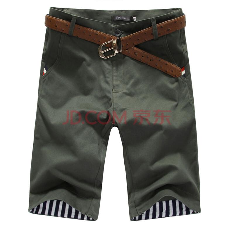 沙滩裤男装夏季男裤潮中裤休闲裤男马裤