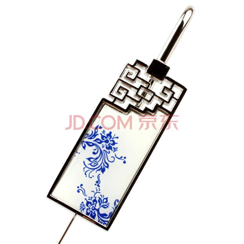 青花瓷金属书签 中国风如意书签 古典创意礼物 可定制