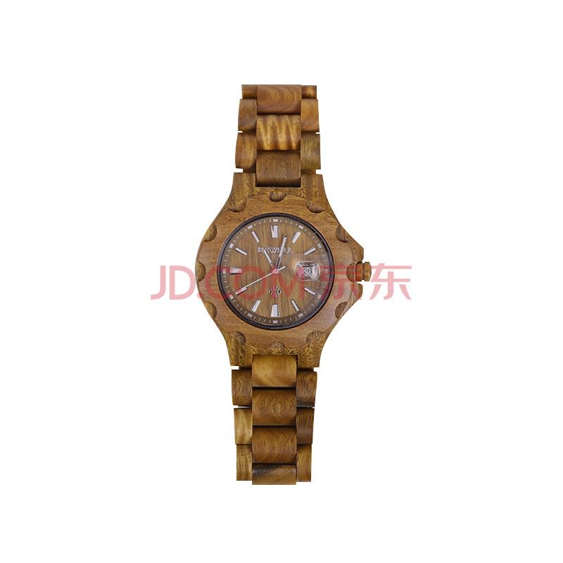 时尚石英表 女士手表 简约风格木头手表 木质手表 男款