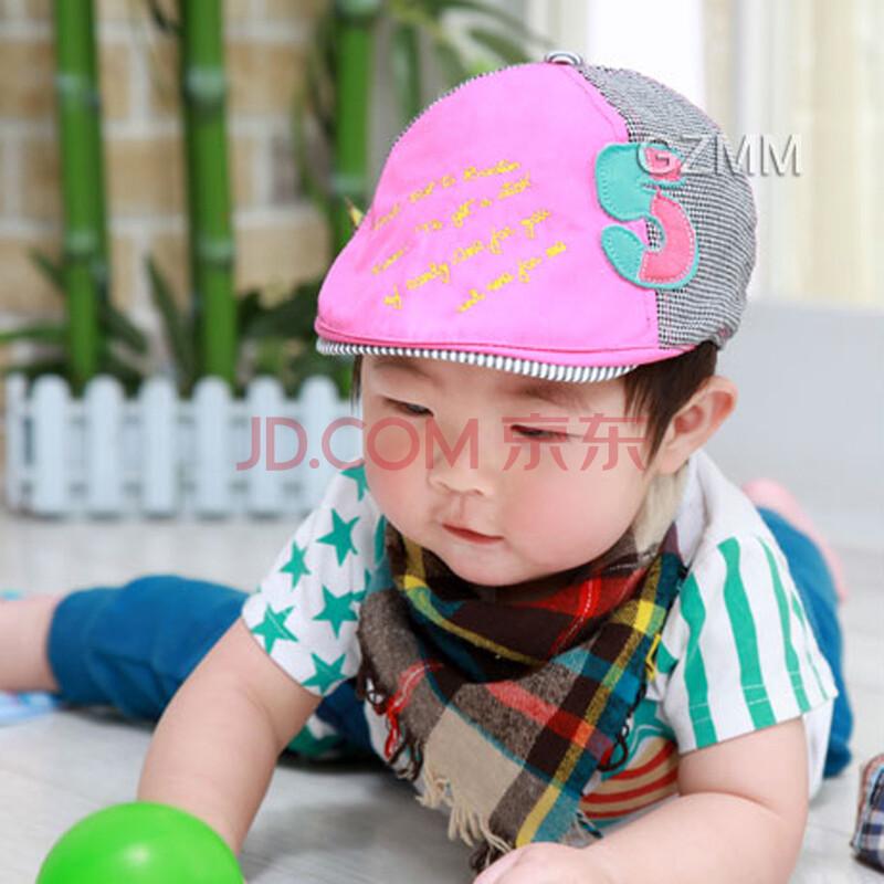 韩国春夏款儿童帽子棒球帽男女宝宝帽子