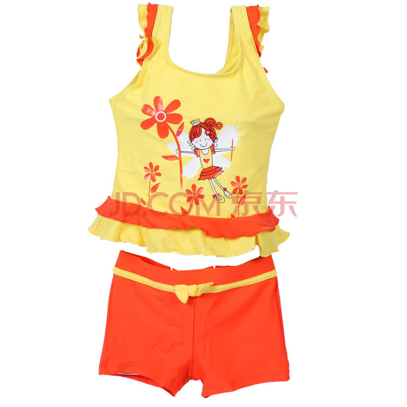 儿童泳衣 中童大童小女孩泳装
