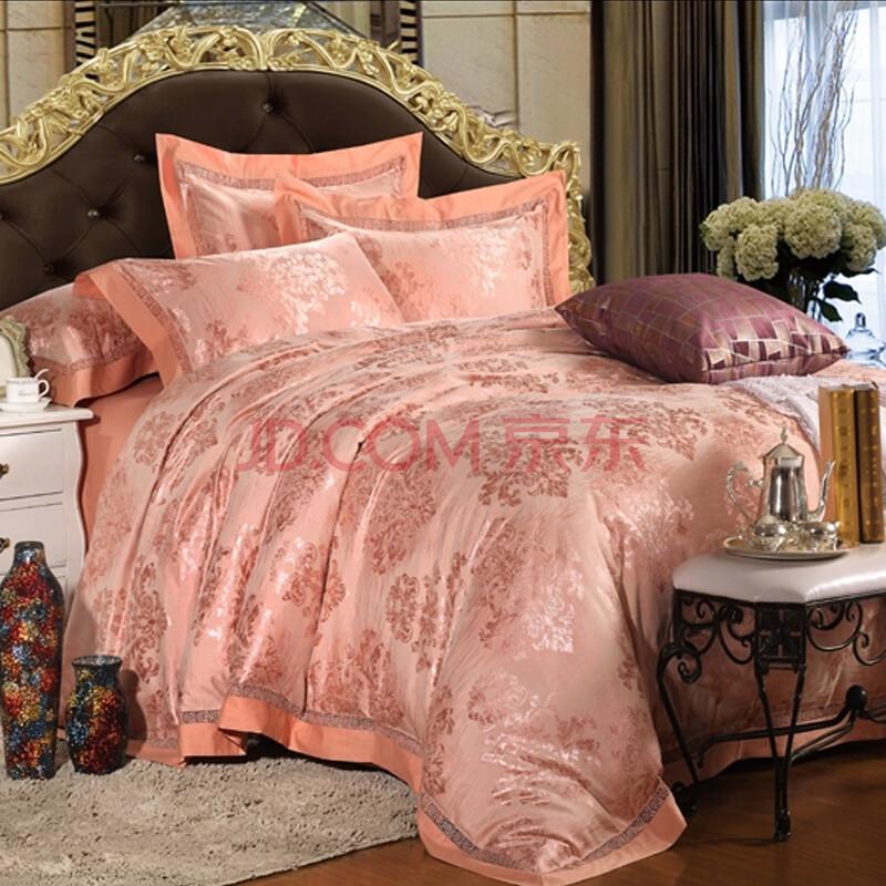 有提花欧式床罩