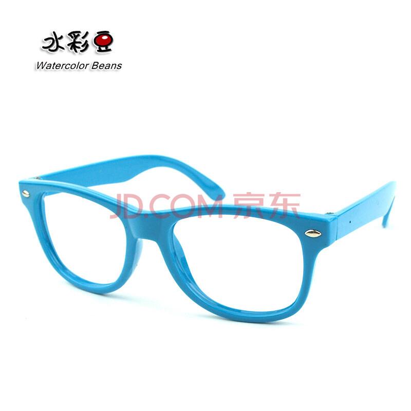 水彩豆儿童眼镜框儿童框架眼镜