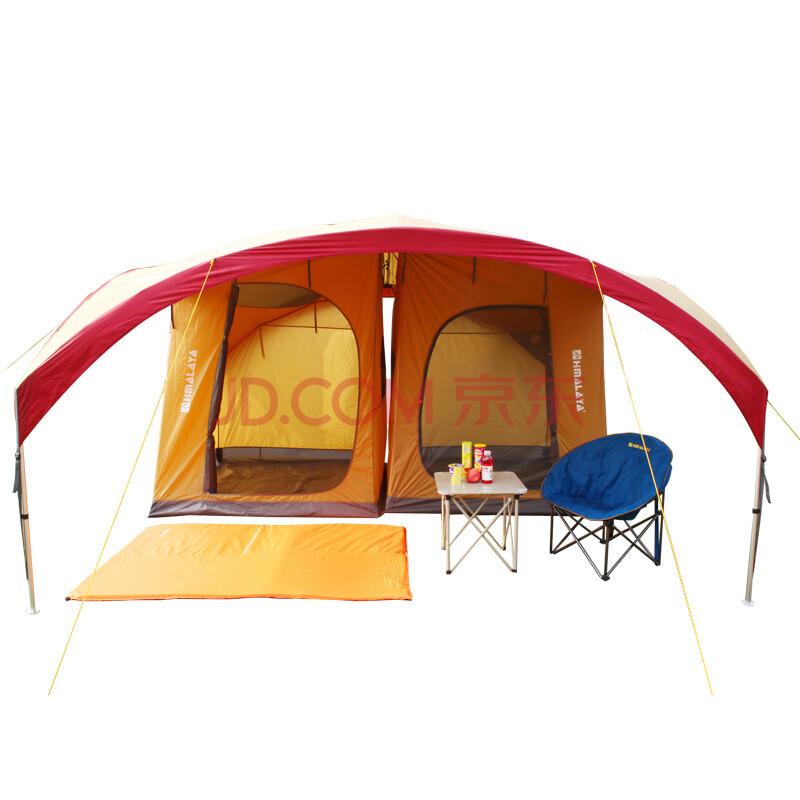 马拉雅 超大天幕铝杆户外帐篷 防紫外线广告凉