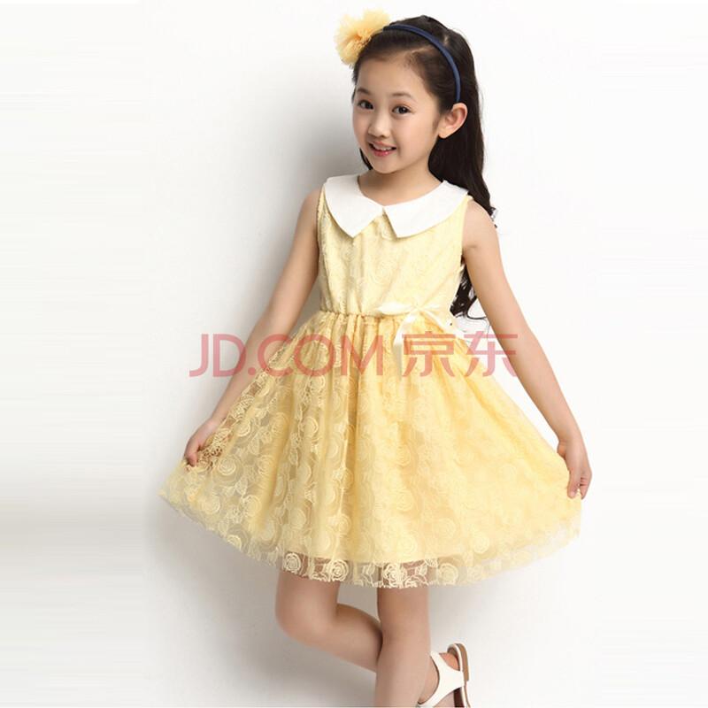 大童公主连衣裙 小女孩裙子