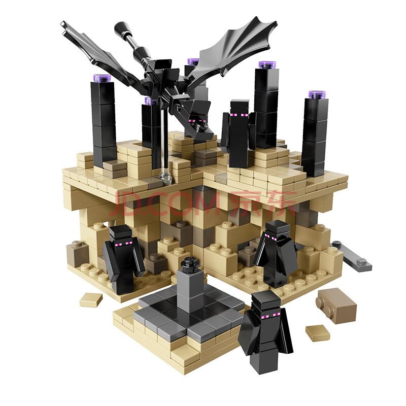 玩具我的积木儿童minecraft拼装博乐场景益智玩具终为什么20多的人还会玩世界图片