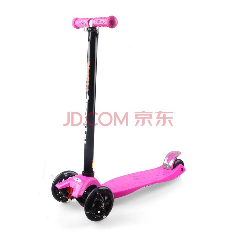 新款儿童四轮三轮滑板车灯