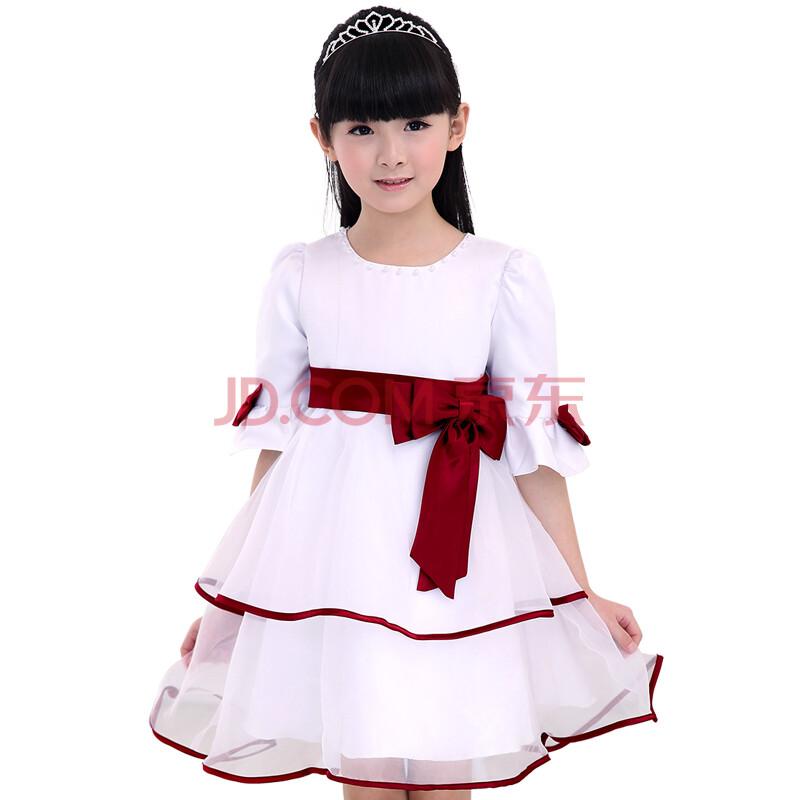 演出裙花童婚纱裙连衣裙儿童礼服裙蓬蓬裙女童公主裙