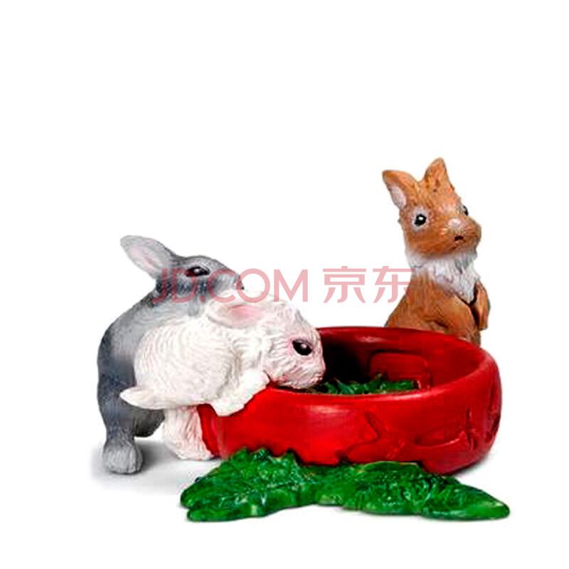 动物模型玩具兔子系列