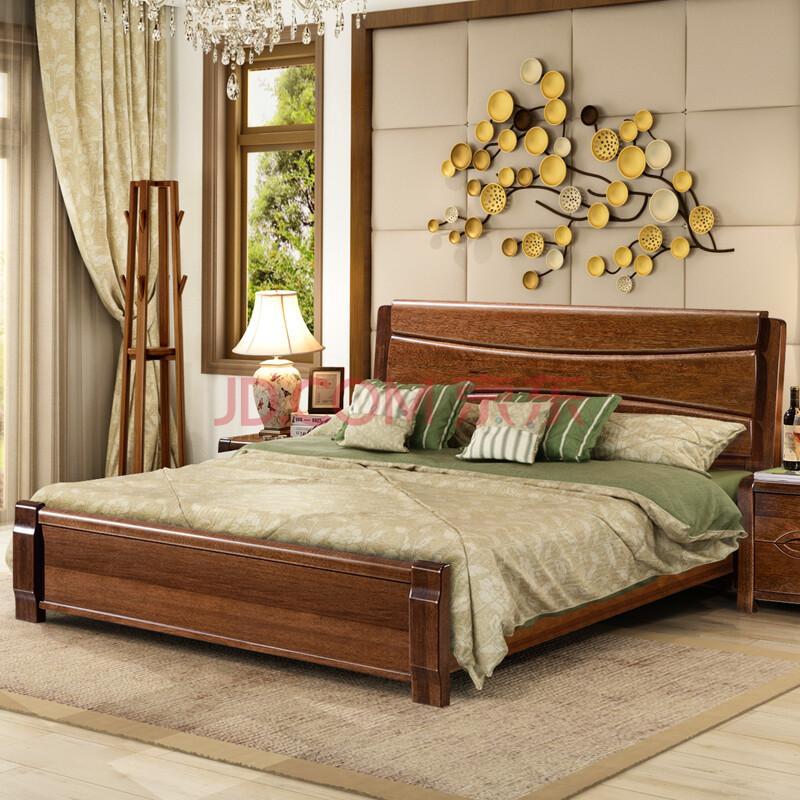 8米1.5米床卧室家具 标准单体床(不含床头柜) 1800*2000