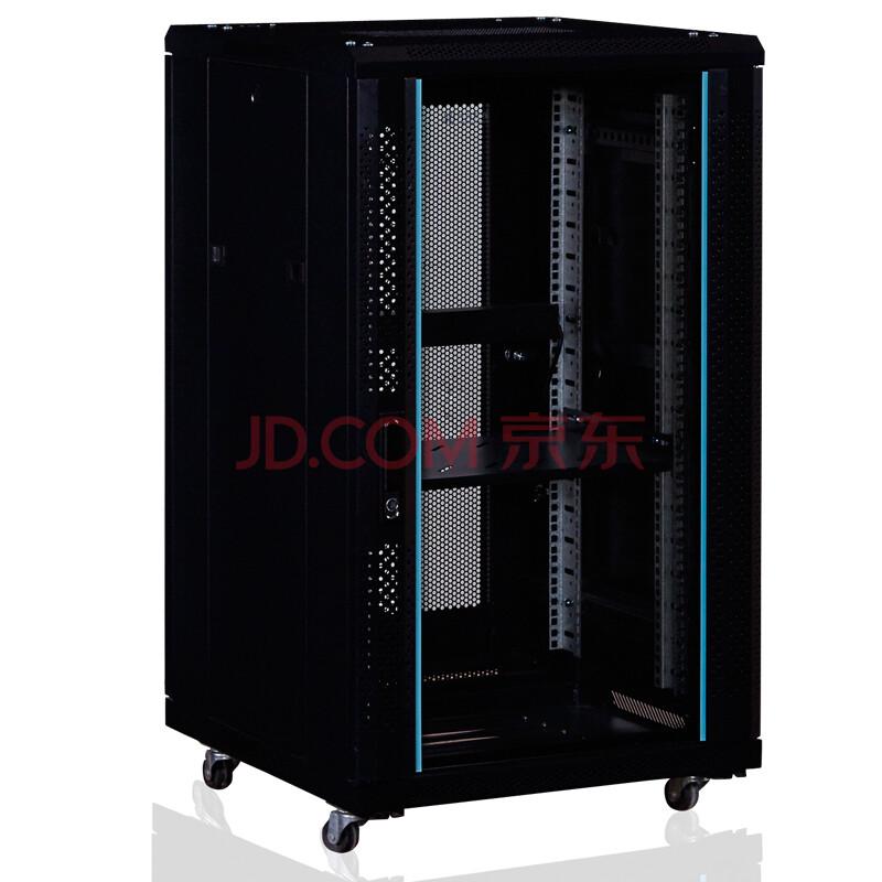 神州机柜T6.6618 网络机柜18U 1米 19英寸标准机柜
