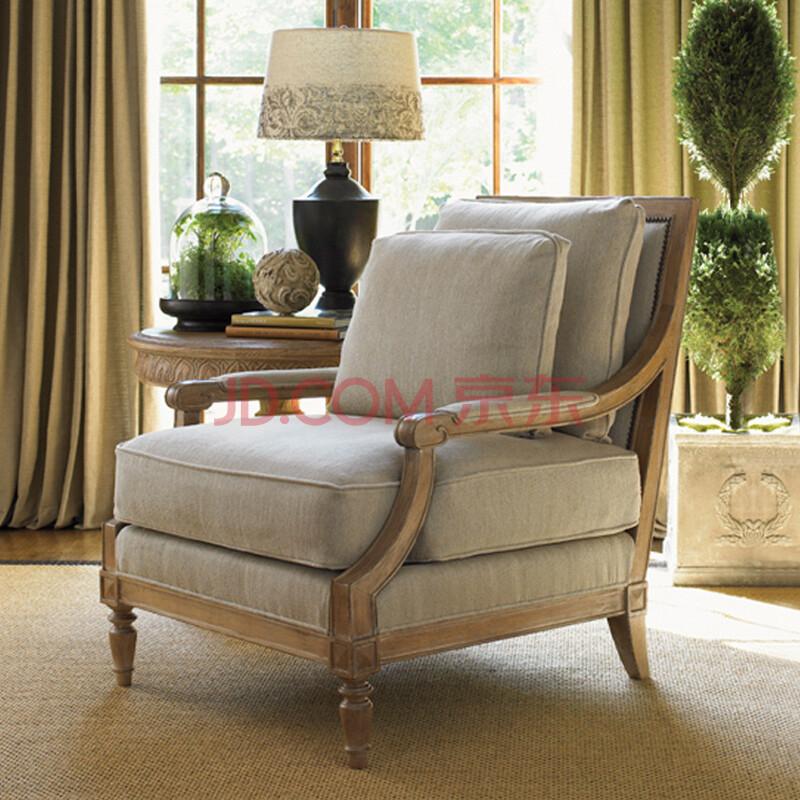 欧式沙发地中海单双三人沙发组合客厅家具