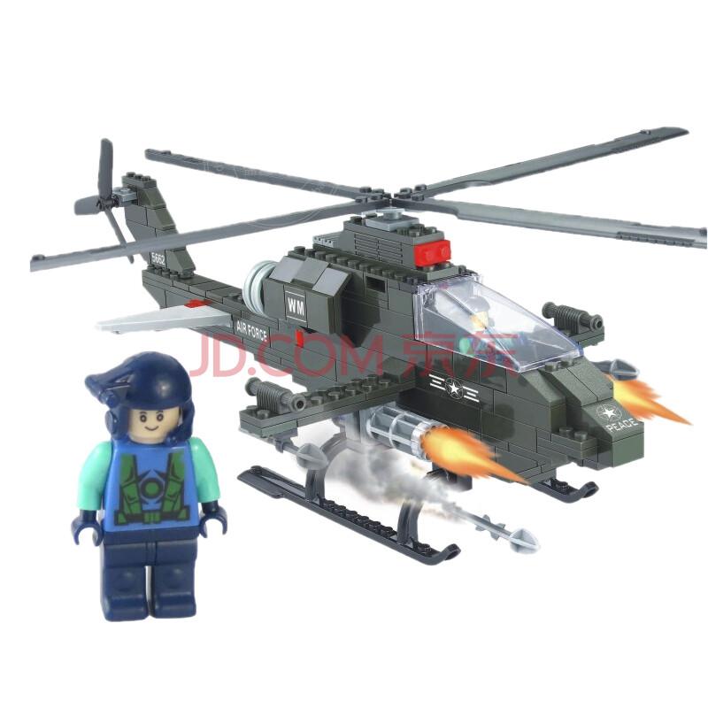 军事航天飞机模型益智拼装积木玩具城市
