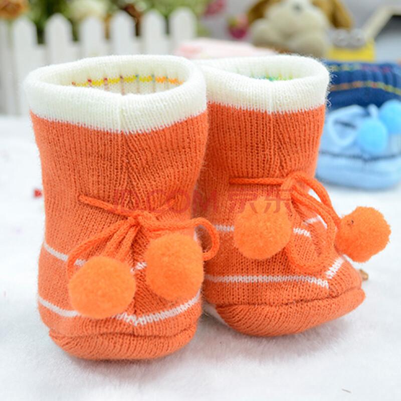 2015秋季新款出生婴儿四季编织鞋毛线袜透气软底手钩卡通系带宝宝鞋针