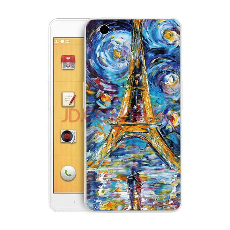 腺+��\y��9��y�n�fa_竖纹卡通时尚手机后盖 彩绘个性情怀 适用于锤子坚果/小锤子/yq601 fa