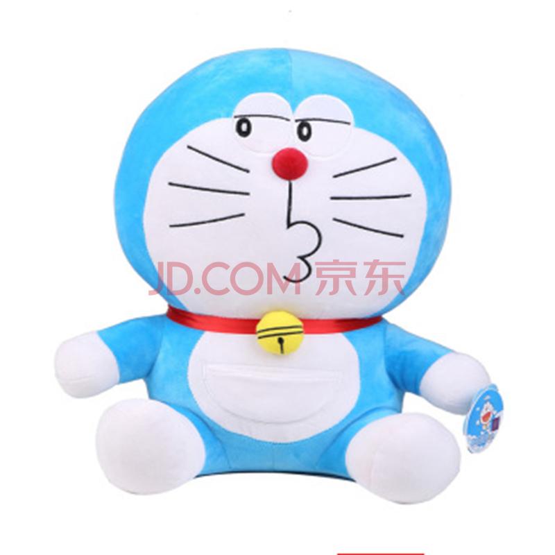 萌版哆啦a梦公仔机器猫玩偶叮当猫抱枕毛绒玩具玩偶生日礼物 调皮款 4