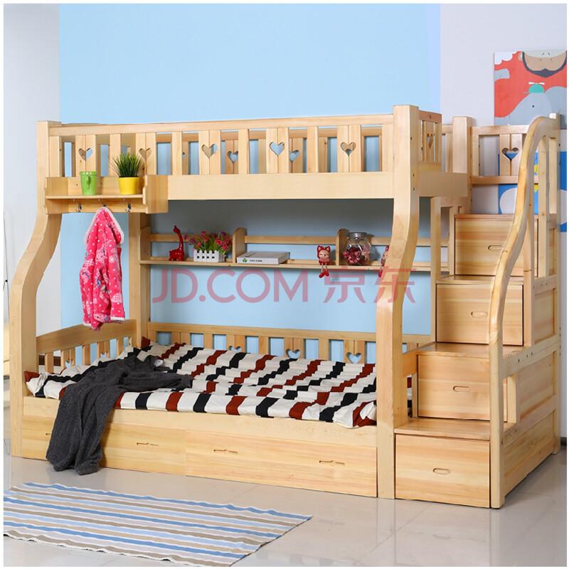 实木儿童床 上下床